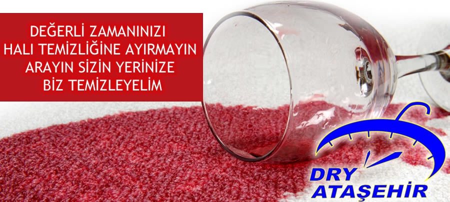 Dry ataşehir halı yıkama